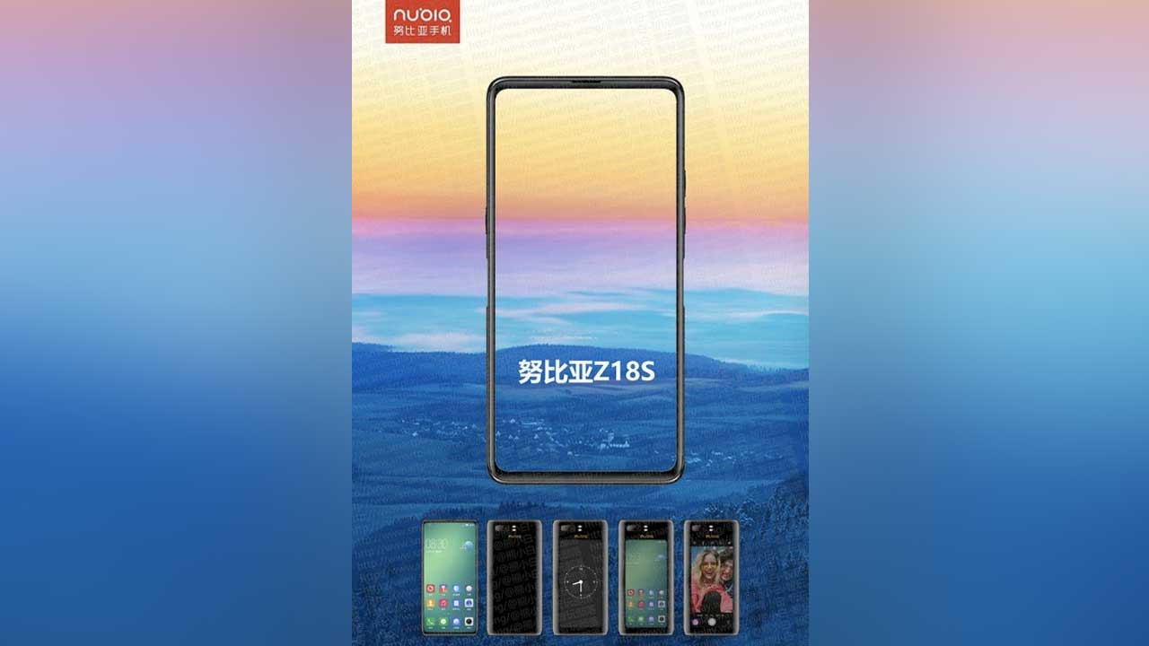 Mysterious Smartphone Two Nubia Screens Will Be Named Nubia Z18S