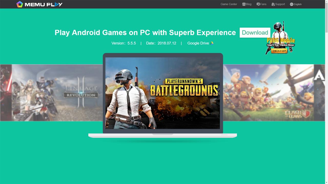 emulator untuk main pubg mobile 2