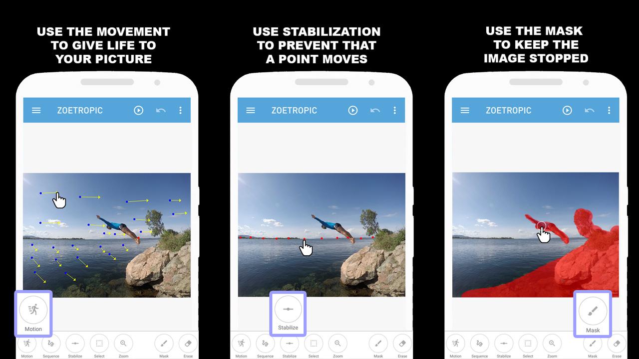 Cara Edit Foto Latar Belakang Bergerak Di Android