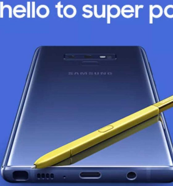 Galaxy Note 9 Live Streaming 560x600