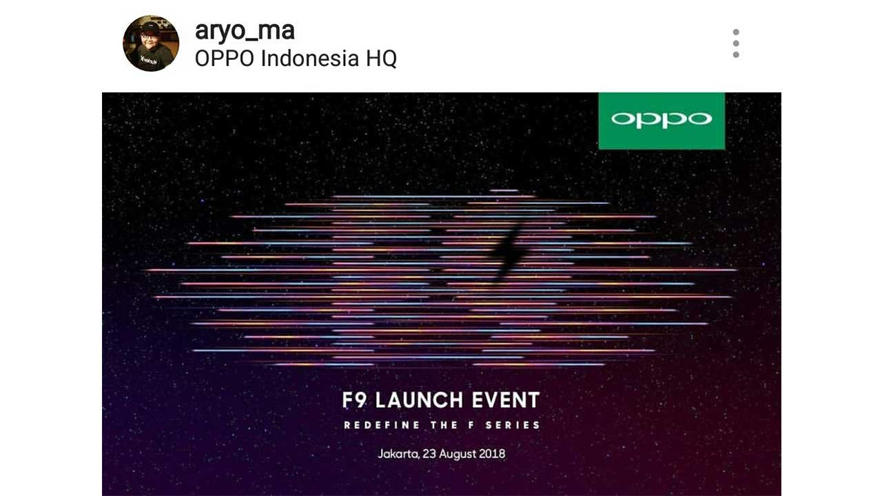 OPPO F9 Launch Jakarta