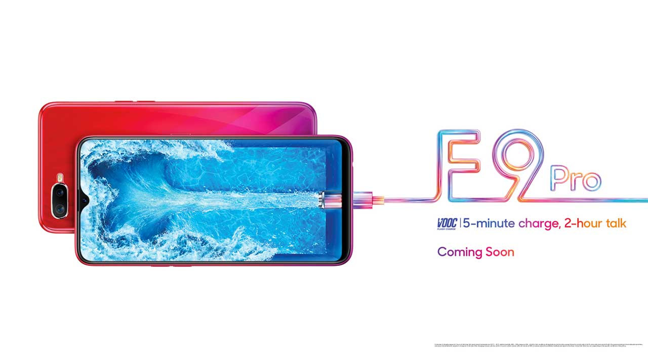 OPPO F9 Ensured Support for VOOC Flash Charge