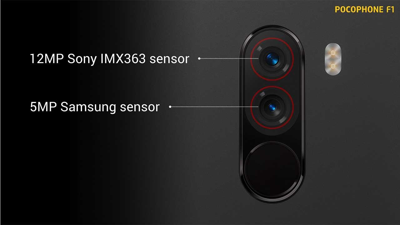 Hasil gambar untuk pocophone dual camera
