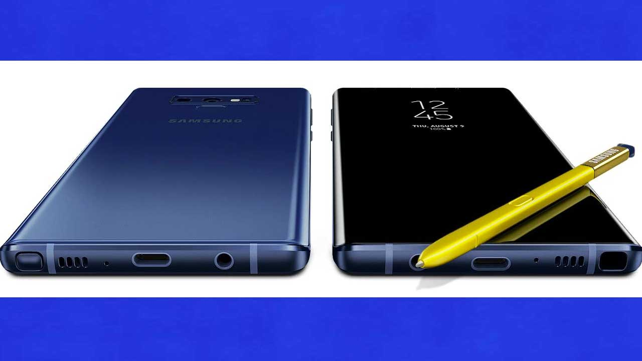 Samsung Galaxy Note 9 5