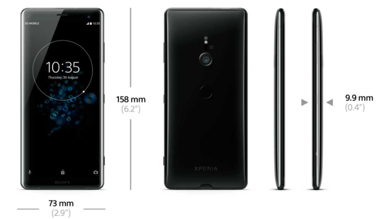 Sony Xperia XZ3 Released