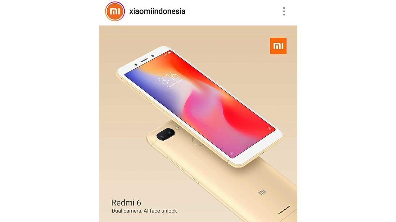 Xiaomi Redmi 6 Indonesia