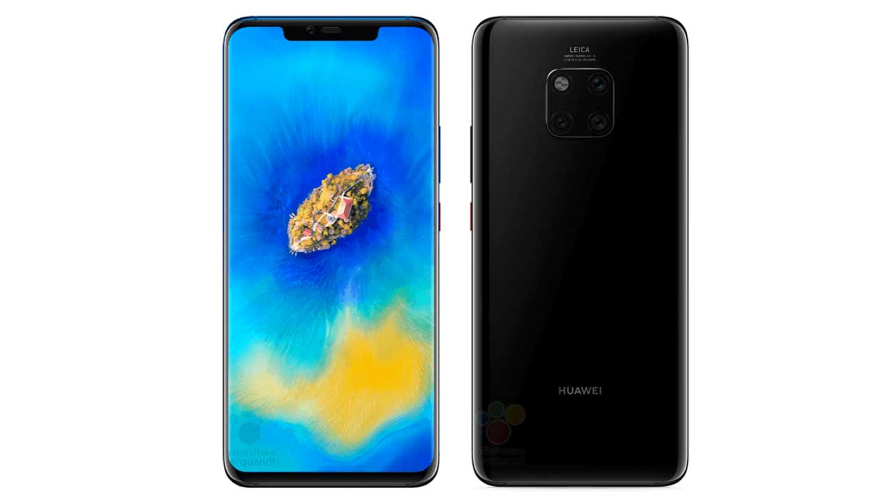 This is the proof that Mate 20 Pro has three cameras and a fingerprint on the screen