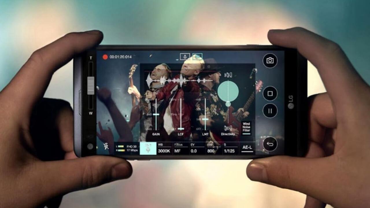 LG V20 camera Copy