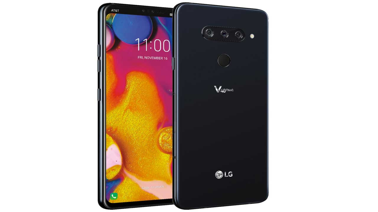 LG V40 ThinQ bangs can be hidden, this is the proof!