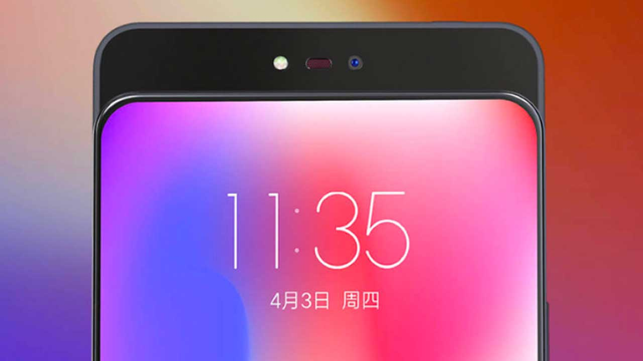 This teaser reveals the Lenovo Z5 Pro rear camera