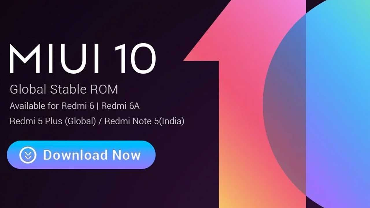 MIUI 10 Redmi 5 Plus