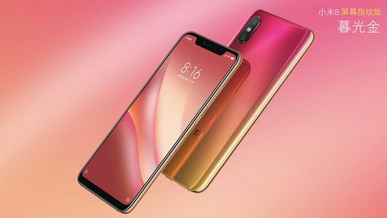 Officially Swing, this Price Mi 8 Pro with Fingerprint on Screen