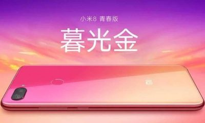 Mi 8 Youth Smartphone 400x240
