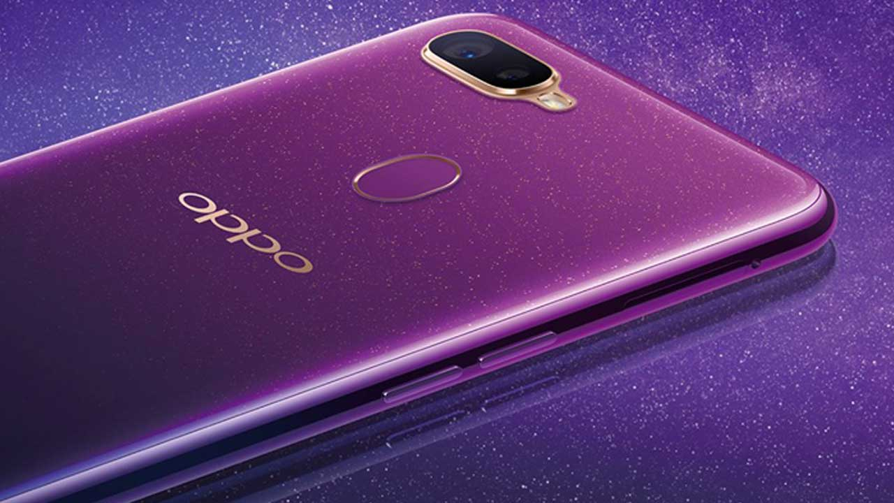 OPPO F9 Starry Purple 2