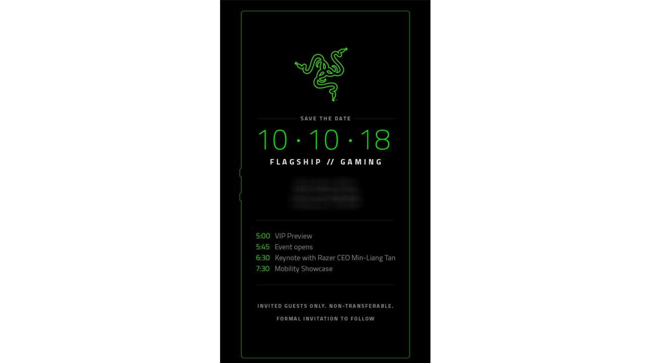 Razer Phone Date Launch 1