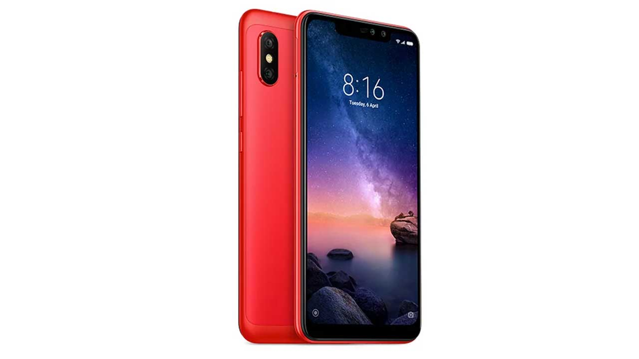 Redmi Note 6 Red