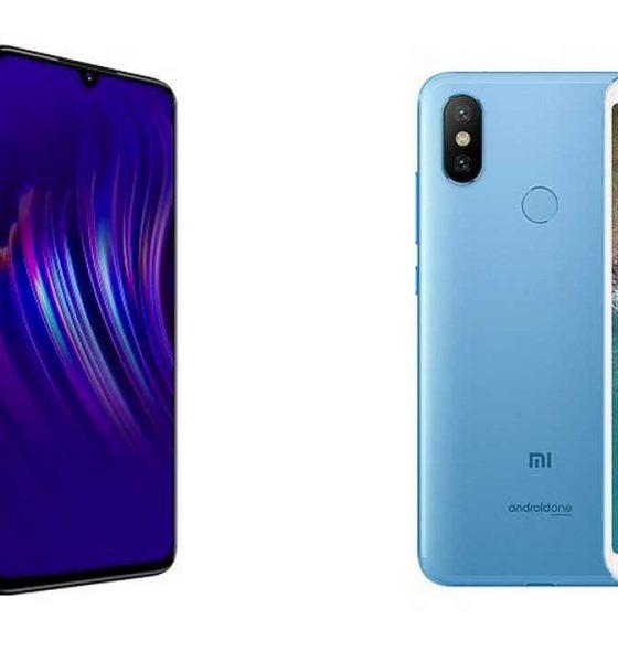 Vivo V11 Pro vs Xiaomi Mi A2 560x600
