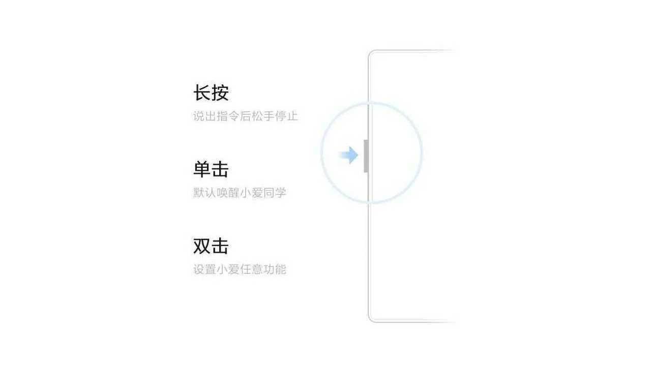 Xiaomi Mi Mix 3 Slider Xiao AI