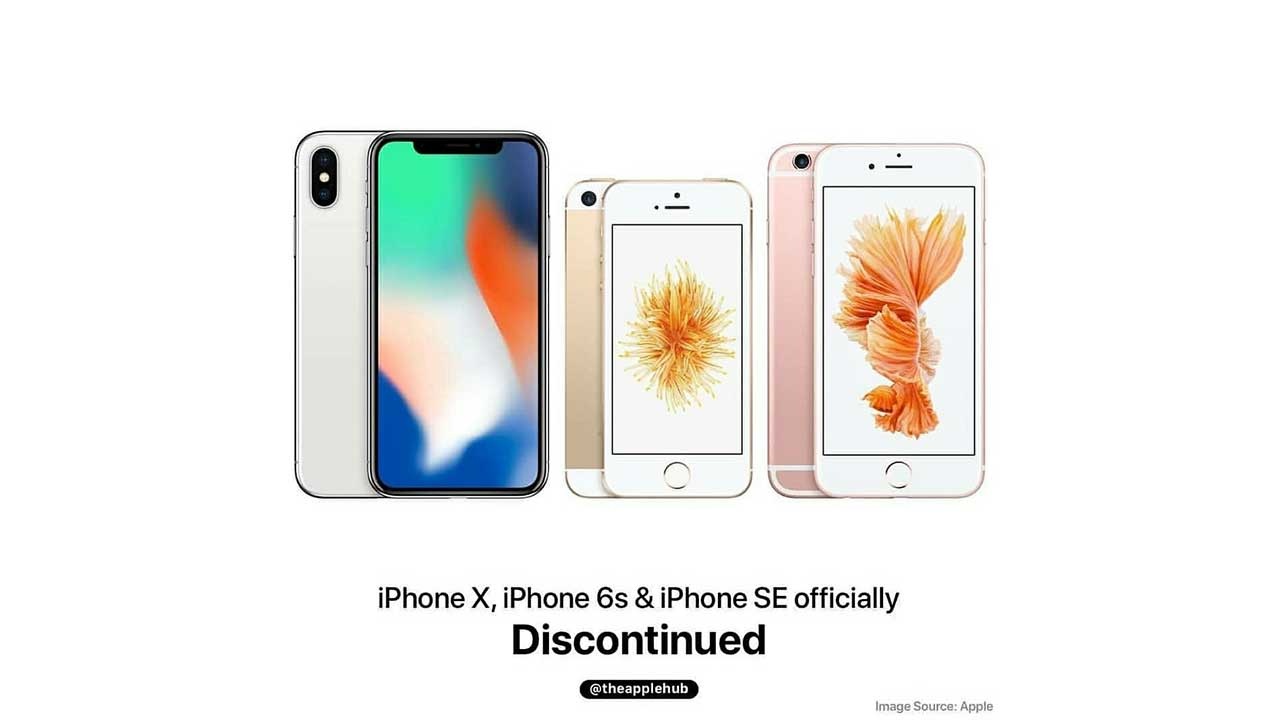 RIP iPhone X, iPhone 6s, dan iPhone SE