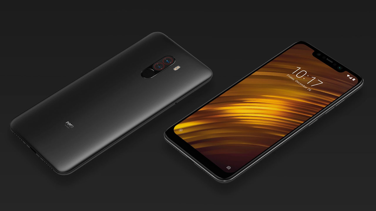 The F1 Pocophone is confirmed to be part of Android 9 and 10, when?