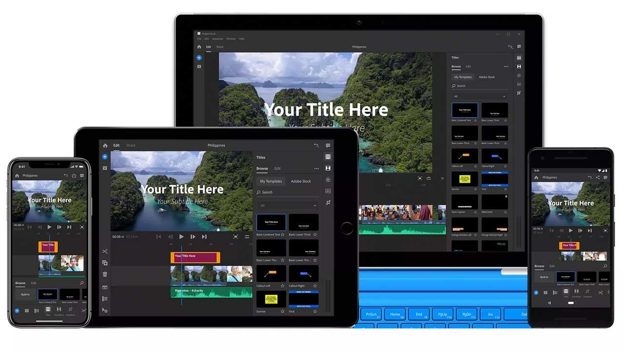 Adobe Premiere Rush Cc Mengkilapkan Gelang Kulit