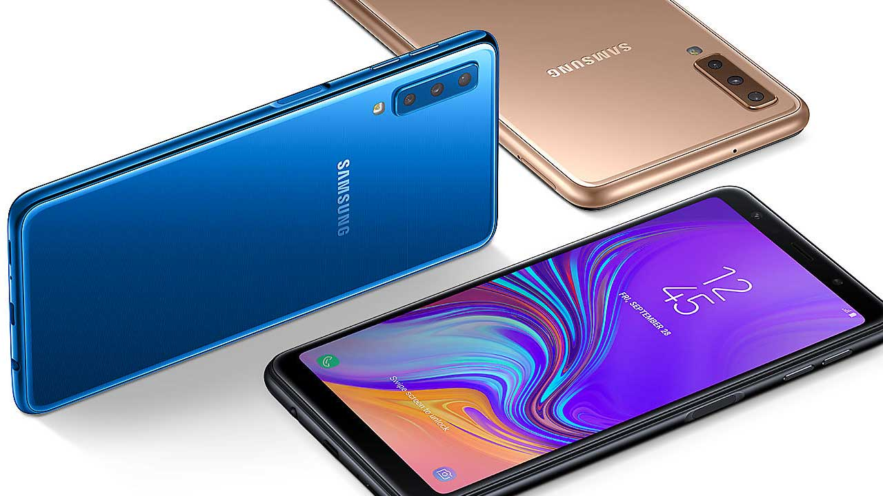 A7 Samsung Galaxy A7 at Indocomtech 2018, the price?