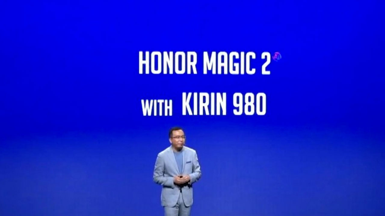 Honor Magic 2 Kirin 980