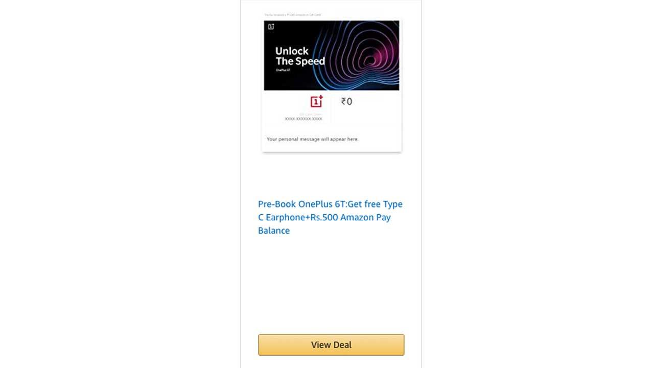 OnePlus Amazon India