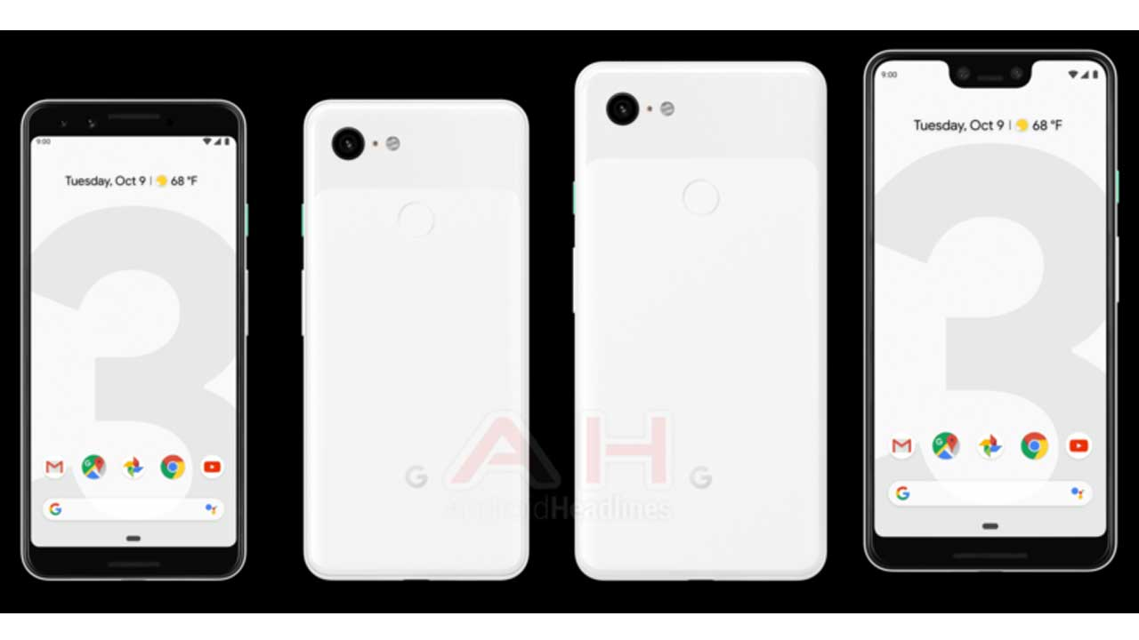 Hey! Google Pixel Duo 3 Will Have Three Color Choices