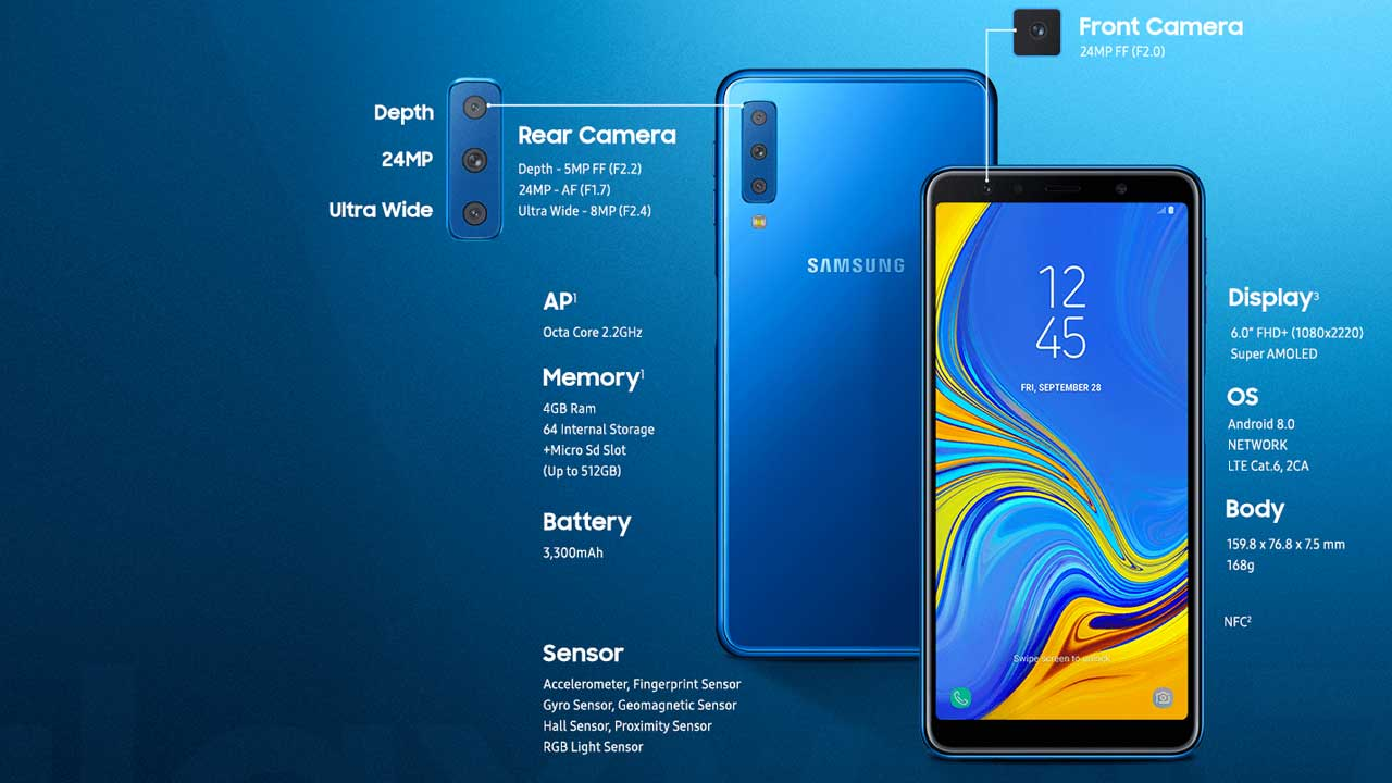Samsung A7 2018 Launch 1