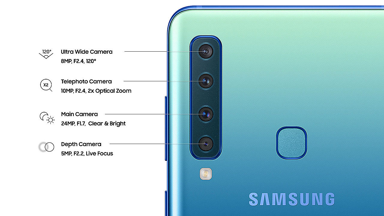 Have 4 Cameras This Is The Official Price Of The Samsung Galaxy A9