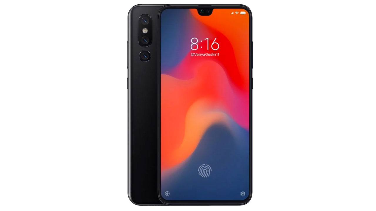 Xiaomi Mi 9 Render Appears, Has Three Rear Cameras