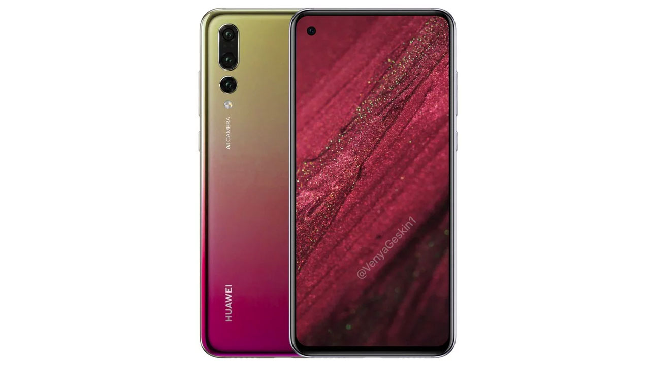 Huawei Nova 4 is similar to the P20 Pro and has a hole on the screen