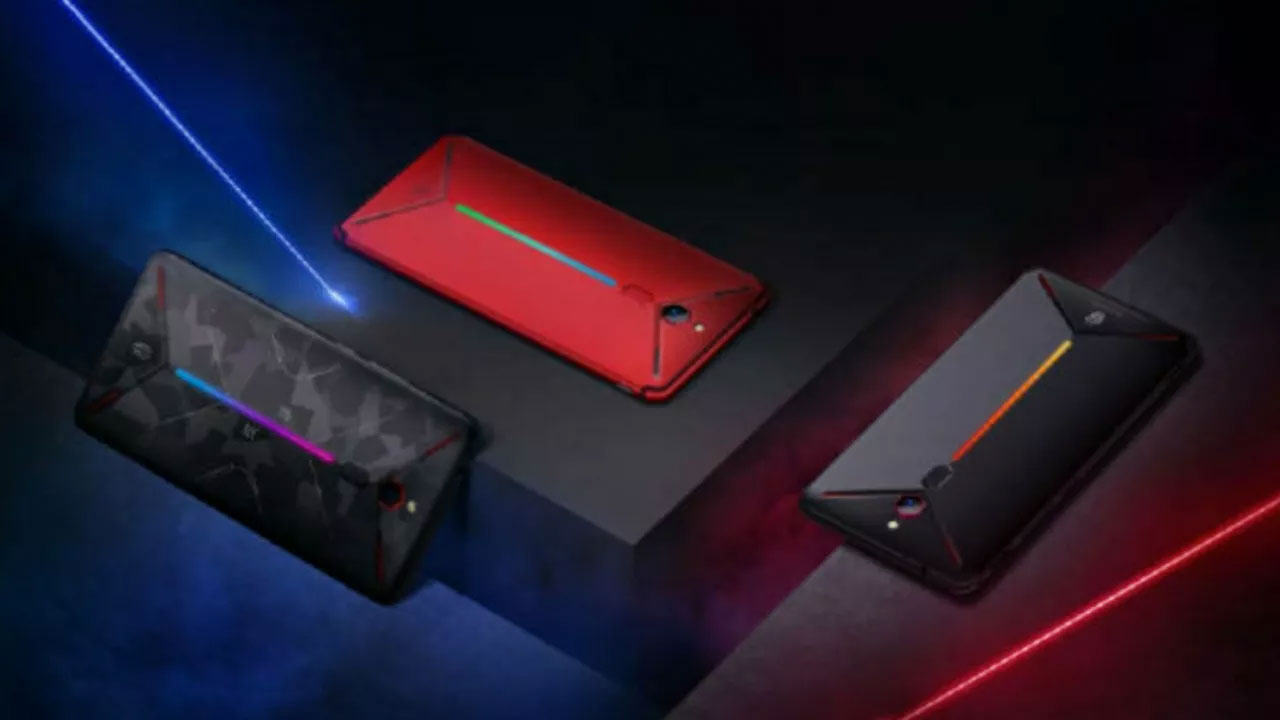 10GB Red Magic Mars Nubia Gaming Hape Gaming Launches