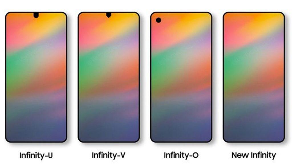 layar samsung galaxy a8s bakal pakai poni infinity u