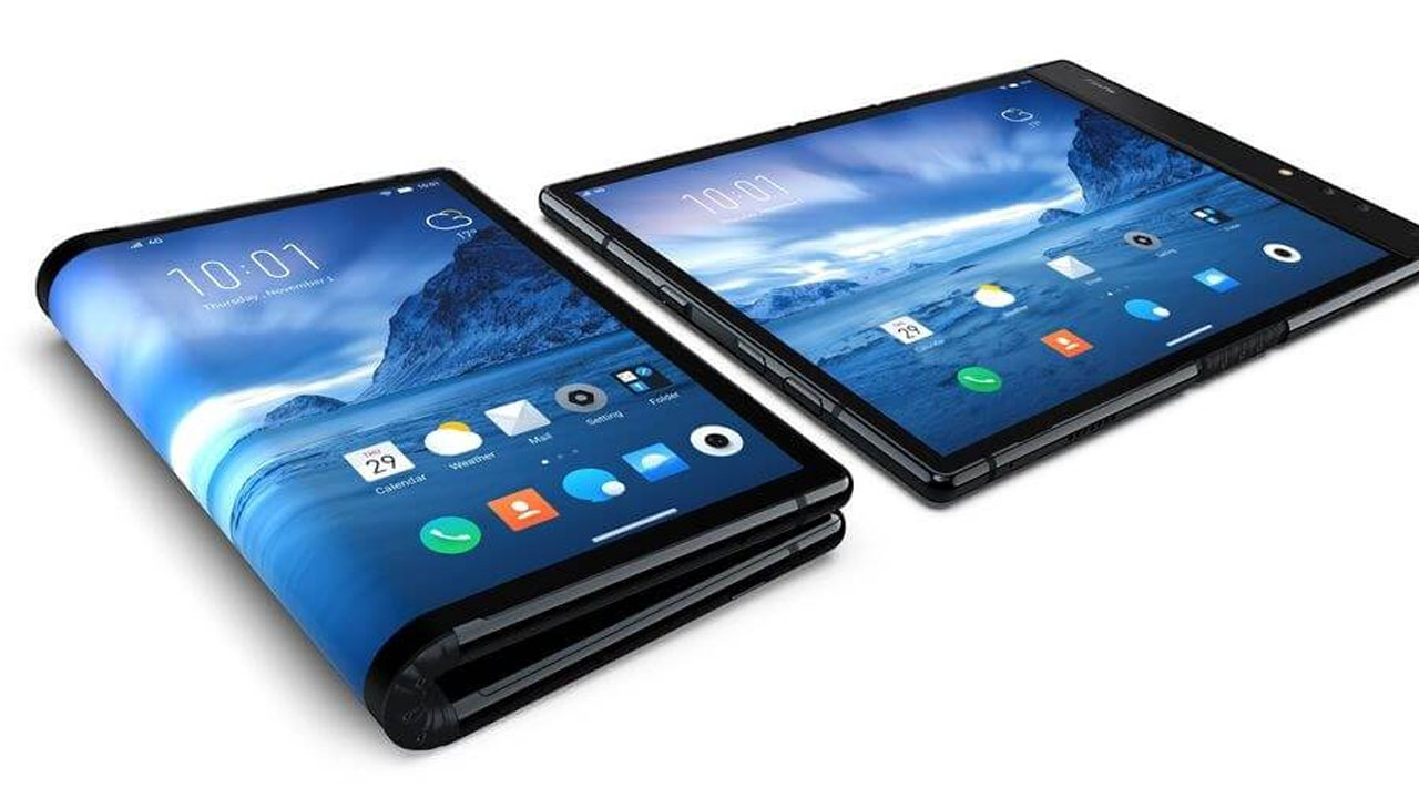 This is FlexPai, the World's First Folding Screen Smartphone!