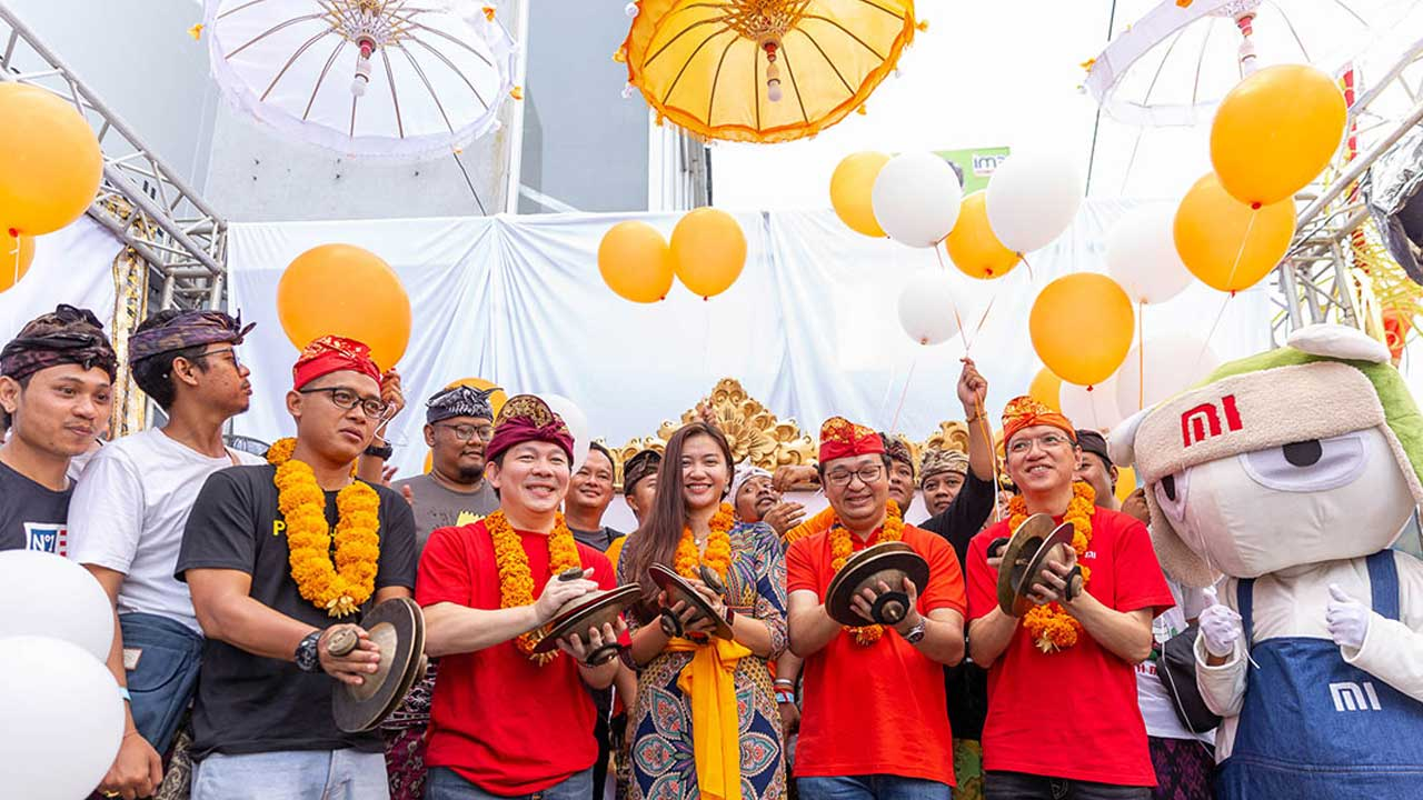 Xiaomi Open the First Mi Store in Bali