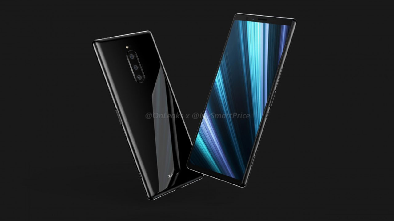 Image Render Shows Cool Design of Sony Xperia XZ4