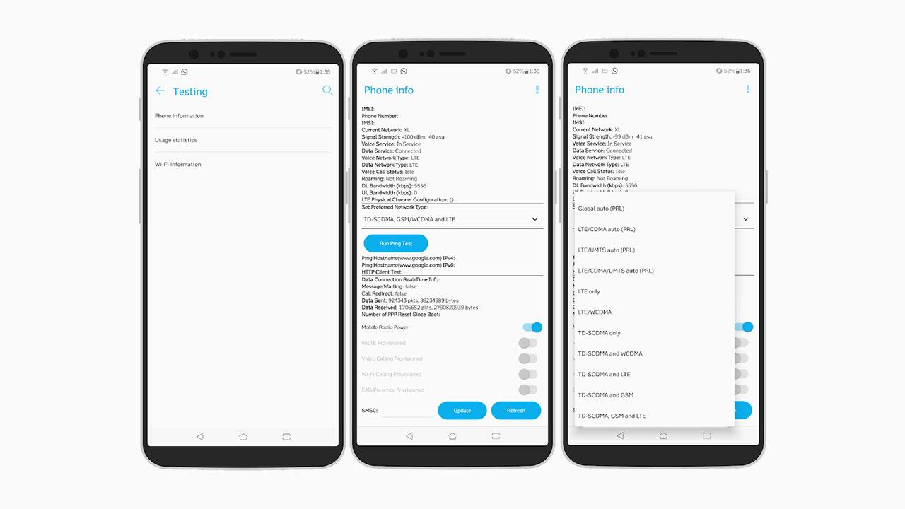 Cara Paksa Sinyal Di Android Jadi 4g Only