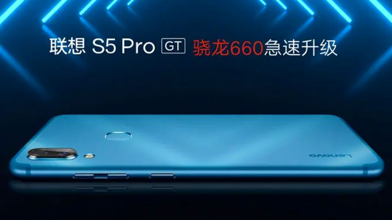 The Lenovo S5 Pro GT with Snapdragon 660 is sold for IDR 2.5 million
