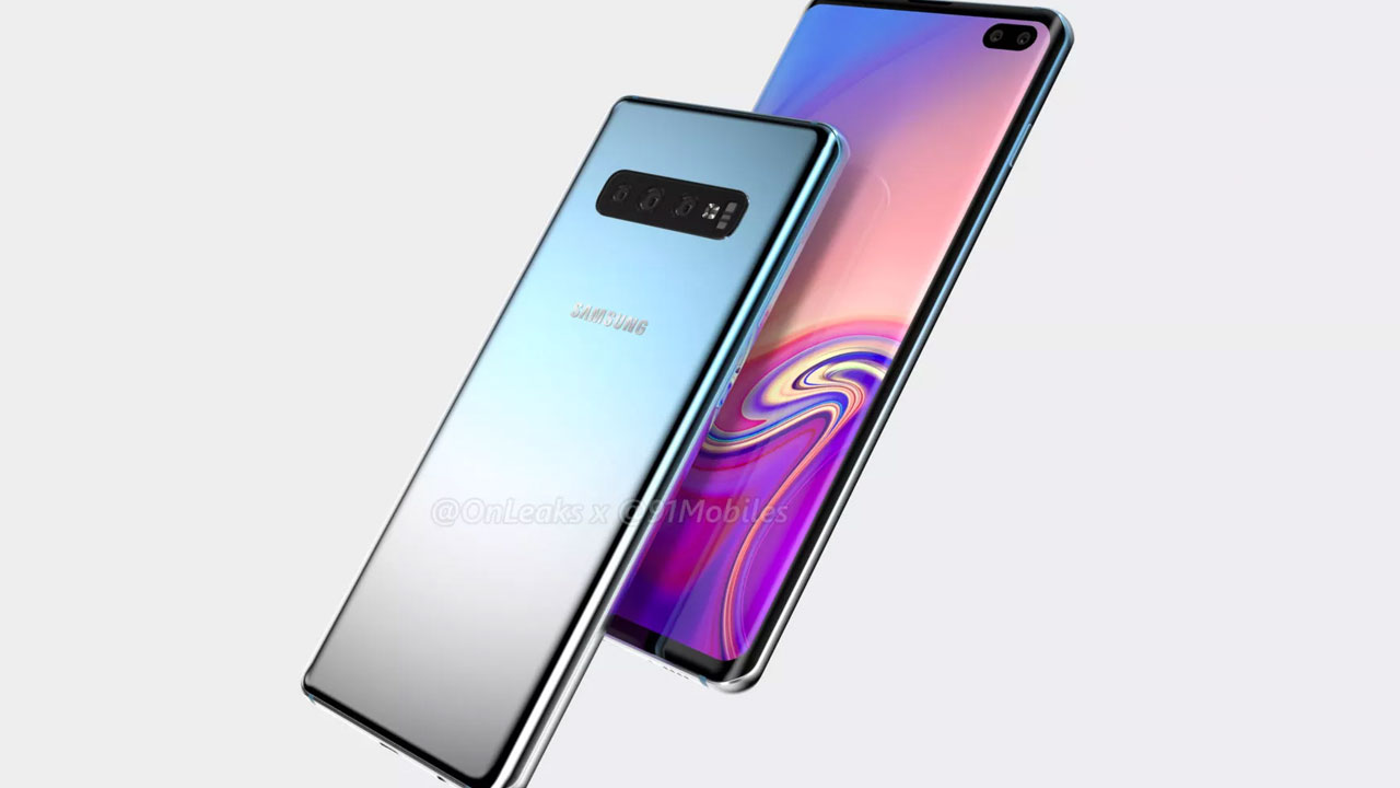 How much is the Samsung Galaxy S10 + Rear Camera?