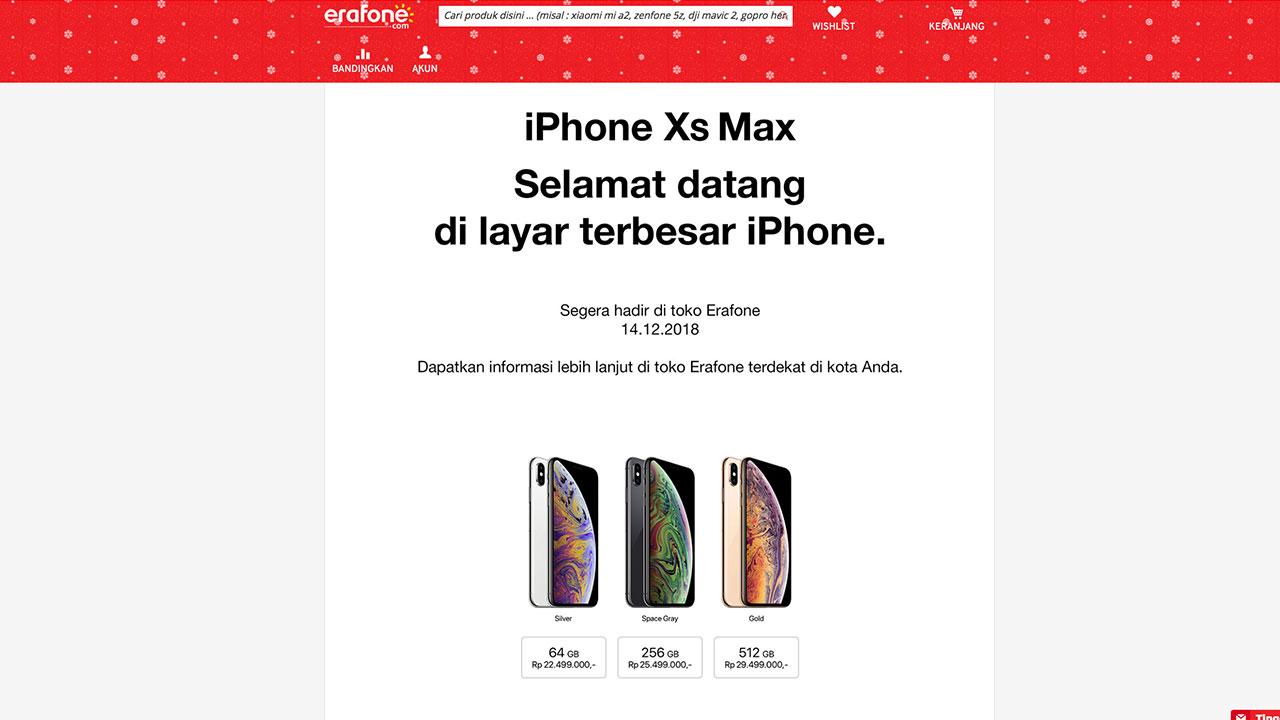 Secara resmi Teletama Artha Mandiri atau TAM (TAM) telah memboyong iPhone  terbaru besutan Apple ke pasar Indonesia. Bahkan hari ini f953d442fc