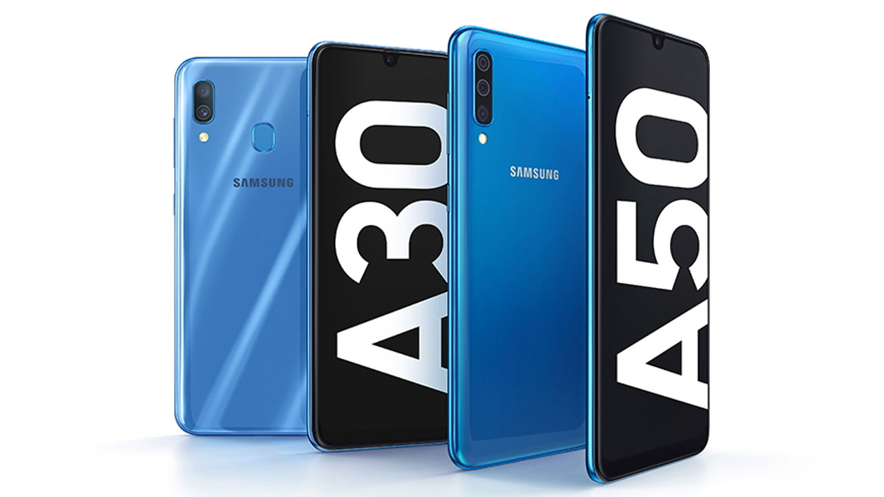 For sale at the end of March 2019, this is the price of the Galaxy A30 and A50