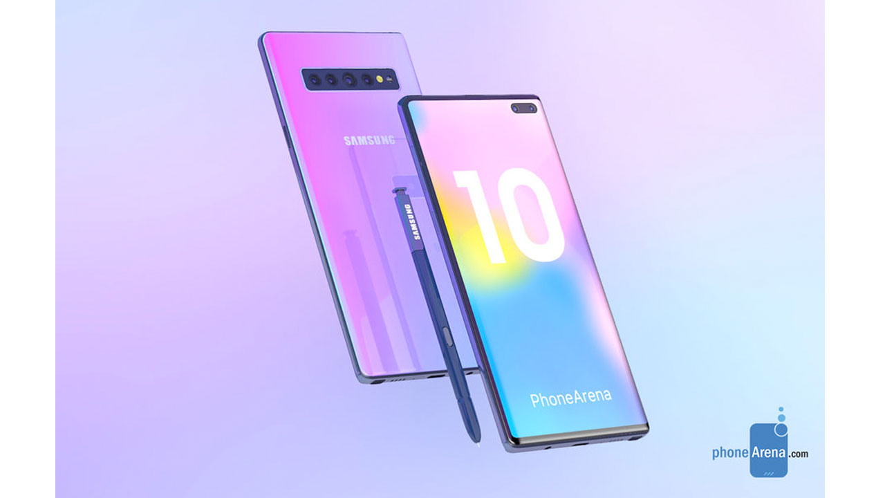 Galaxy Note10 Battery Capacity Revealed to the Surface