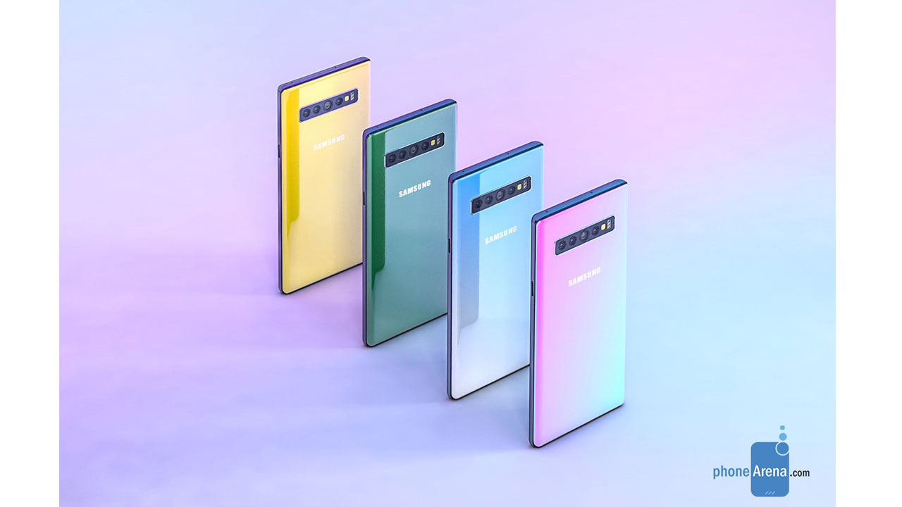 Is this the design of the Galaxy Note 10 that will be presented by Samsung?