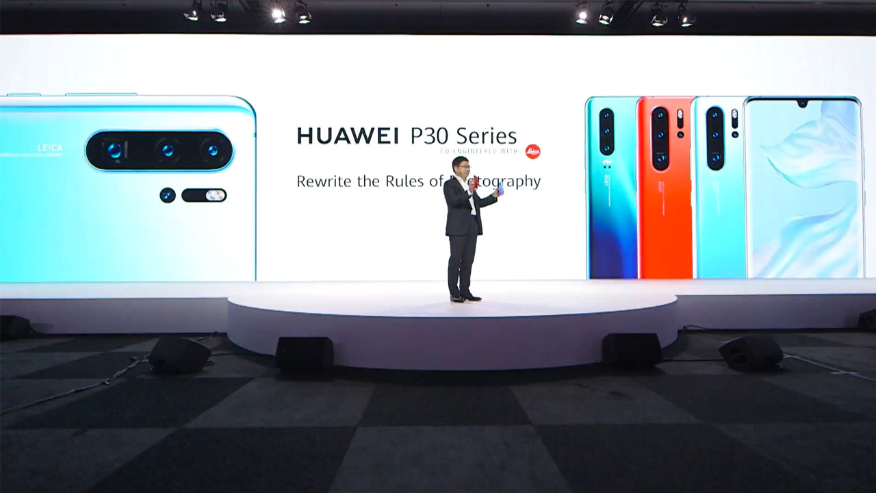 Pre-order Faucet Huawei P30 and P30 Pro has been opened, this is the price