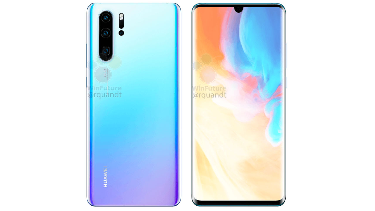 Leaked Huawei P30 Specifications, Pro Version Has 256 GB of Storage