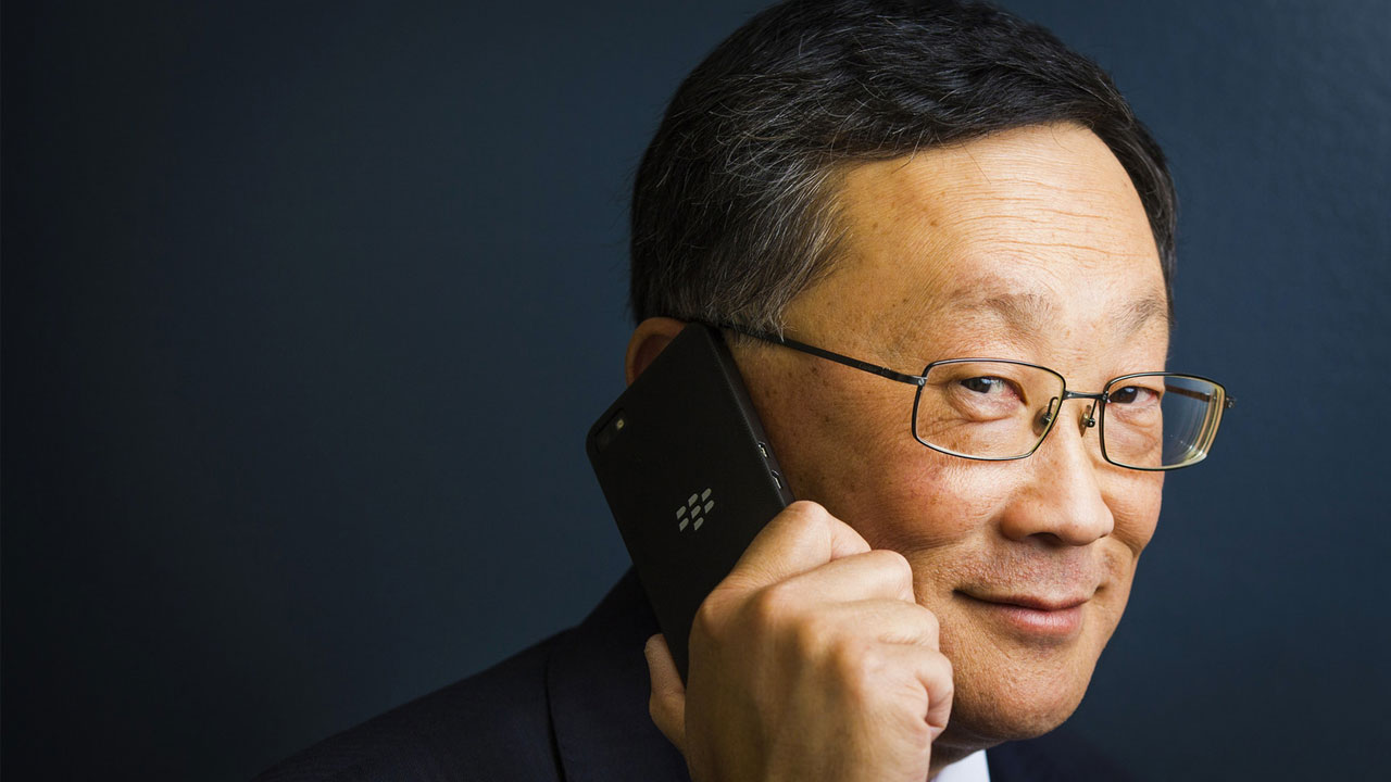 BlackBerry CEO Love Cynical Comments About Smartphone Folding Screen