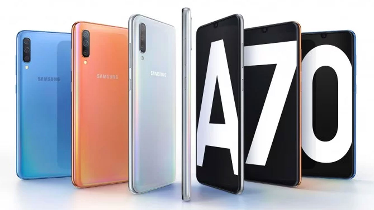 Samsung Begins to Open Pre-order Galaxy A70