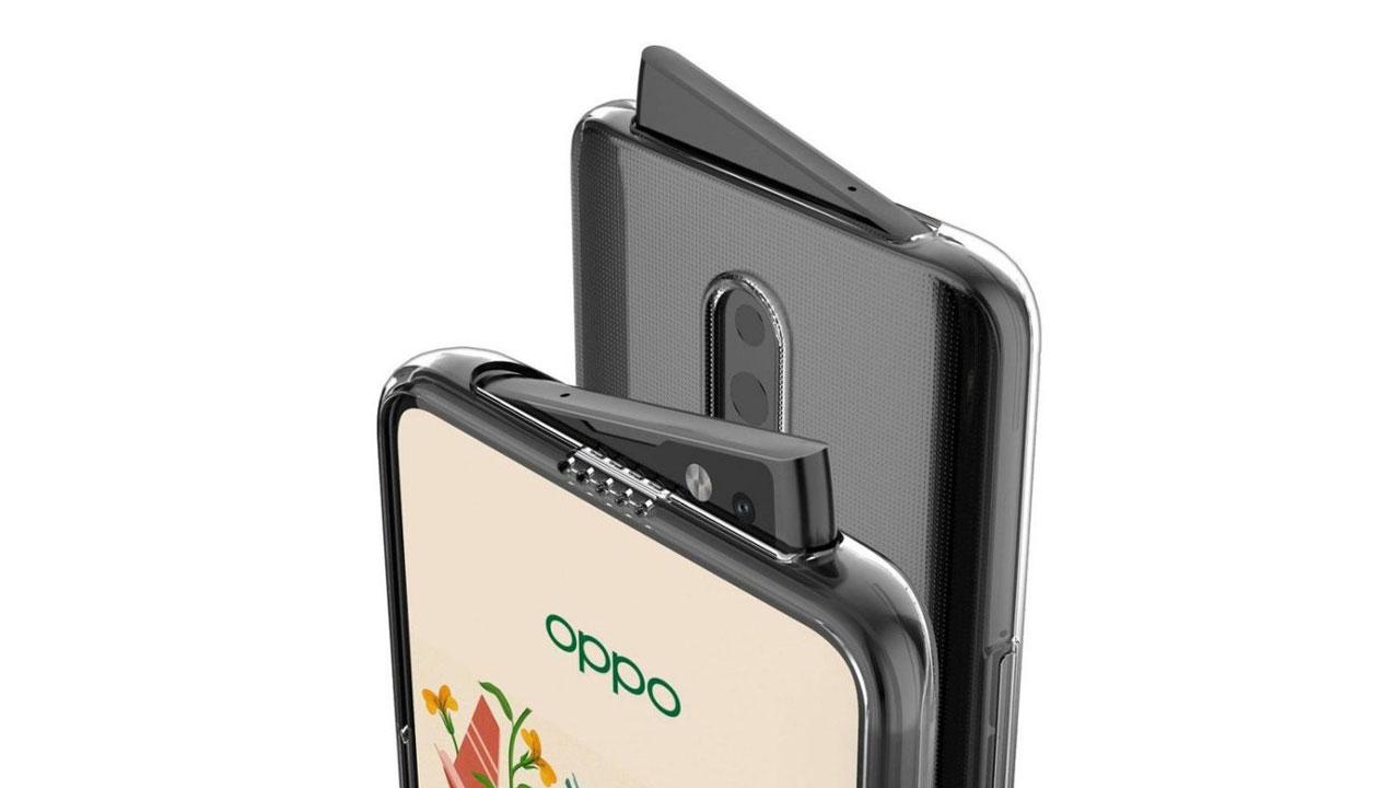 OPPO Reno has a selfie camera that is eccentric
